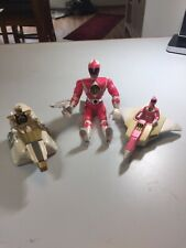 1996 Power Rangers  Ranger Figures's  Pink & White and Gold