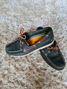 Mens timberland boat shoes size 8