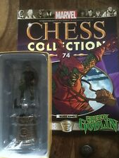 Eaglemoss Marvel Chess Collection # 74 GREEN GOBLIN Black King + Magazine