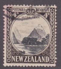New Zealand 1935 #191 Mitre Peak - Used