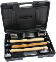 Ausbeulwerkzeug Ausbeul Hammer Set 7-tlg ausbeulen Werkzeug Kfz Karosserie Blech