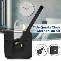 Black 115mm Hand DIY Tide Quartz Controlled Clock Movement Mechanism Fitting Kit