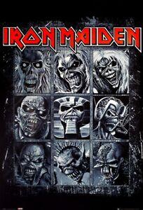 Iron Maiden Poster Nine Eddies 61x91.5cm