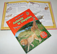 NEW HIDE AND SEEK ANIMALS IN DISGUISE CAMOUFLAGE FACTS & FUN HARDBACK BOOK AL