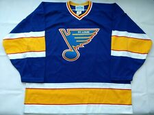 Pristine Extremely Rare 1987 Authentic Pro 52 St Louis Blues CCM Cosby Jersey