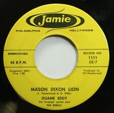 50'S And 60'S Vg++ To Nm! 45 Daune Eddy - Mason Dixon Lion / Cannonball On Jamie