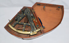 A Good 8 inch Double Frame Sextant – Gilbert, London.