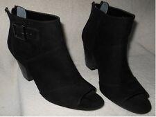 CARLOS by Carlos Santana; DASHWOOD Women's Peep Toe Ankle Boot, Zip Back, 8.5M