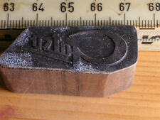 gatso   LOGO schöner Oldtimer Stempel / Siegel aus Metall