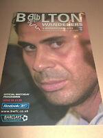 BOLTON WANDERERS V BIRMINGHAM CITY 2004 EXCELLENT PREMIER FOOTBALL PROGRAMME