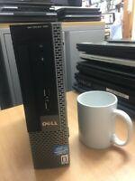 Dell Optiplex 790 USFF intel Core i3-2ndGen  4GB RAM 250 HDD @3.4GHz Win-7 Pro