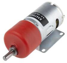 RS Pro, 12 V, 4.5 â?? 15 V dc, 3000 gcm, Brushed DC Geared Motor, Output Speed 1