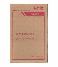 Carta Hiti+ Ribbon 10X15 per Stampante S420 (50 fogli) foto tessera