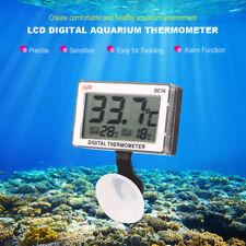 LCD Digital Aquarium Fish Tank Reptile Aquarium Water Thermometer Temperature