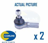 2 x FRONT OUTER TRACK ROD END RACK END PAIR COMLINE OE REPLACEMENT CTR3162