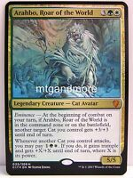 Magic Commander 2017 - 1x Arahbo, Roar of the World (Oversize) - Mythic Rare