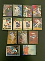 13 Card Hideo Nomo Lot Rookies Inserts + More Los Angeles Dodgers Emotion RC +