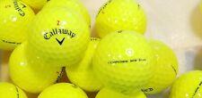 60 Callaway Chrome Soft Yellow Golf Balls 5/A~4/A Mostly Mint !