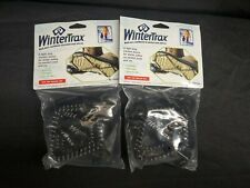Lot of 2 Wintertrax Light Duty Snow Traction Device For Shoes Boots Spike-less