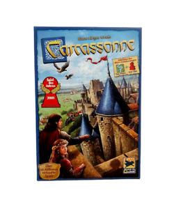 Carcassonne Basisspiel inkl. Erweiterung: Der Fluss + Der Abt - Vollständig