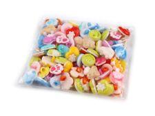 Knöpfe 100 Stück Motivknöpfe Kinderknöpfe Button Mix