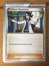 Pokemon TCG : 4 X PROFESSOR SYCAMORE 107/122 World Championship PROMO Uncommon