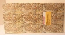 Stone Pattern Embossed Paper pkg 10 Sheets  -- Gray Sandstone Vollmer 46045