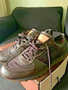 louis-vuitton men sneaker 11.5 excellent condition leather custom