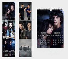 Teen Wolf Stilinski McCall 2018 A4 (29*20cm) 6 sheets wall calendar
