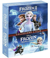 FROZEN + FROZEN 2 (2 BLU-RAY) COFANETTO 2 FILM Animazione Digitale Walt Disney