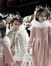 Bonpoint Fille Cœur Imprimer diva robe 6 ans