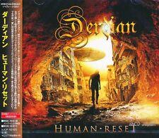 DERDIAN - Human Reset +1 / Japan OBI New CD 2014 / Melodic Power Metal / Italy