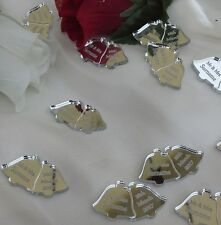Personalised Wedding Bells Favours x50 Table Decorations Scatters Mr & Mrs