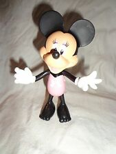 """Minnie Mouse Fashion Bowtique Figure Pink Swimsuit 5 1/2"""" Tall Plastic"""