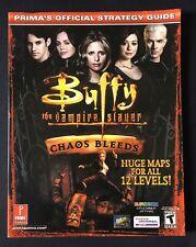 Buffy, la cazavampiros-caos hemorragias-Guía De Estrategia Oficial Prima's