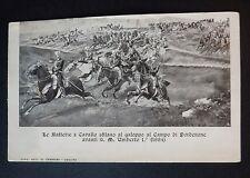 PORDENONE - UMBERTO I ALLE GRANDI MANOVRE DEL 1884