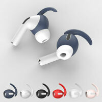 6 Pairs Headphones Cover Ear Hook Solid Silicone Skin Case For Apple AirPods Pro
