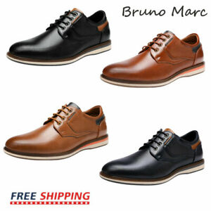 Bruno Marc Mens Casual Shoes Fashion Lace up Classic Oxford Shoes US Size 6.5-13