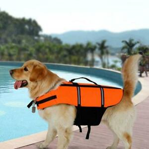 Dog Life Jacket Summer Printed Pet Life Jacket Dog Y Safety Clothes Dogs A6E4