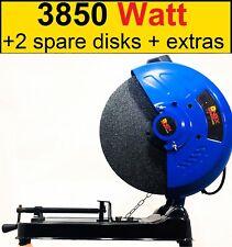 """Chop Saw 3850W 355mm DISCO abrasivo taglio in metallo tagliato visto - 240V - 14"""" LAME"""