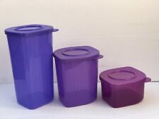 Tupperware Fresh N Cool Refrigerator Containers Set of 3 New
