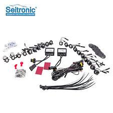 Flexibel LED Tagfahrlicht Set, E4 & R87 Modul 12 High Power SMD LEDs, Xenon Weiß