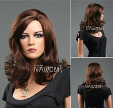 Realistic in The Popular Brown Scroll Wig