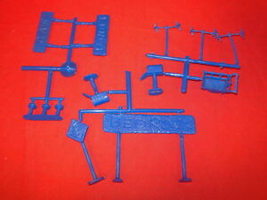 3 Accessory Sets Bundle Marx Flintstones Recast Plastic Playset Warehouse Find