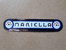 Nos Mariella Cycling Sticker Vintage