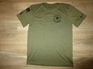Dallas Cowboys Salute to Service NFL Camo Running Nike Dri-Fit Shirt Youth SM 8