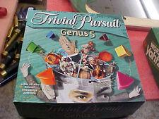 FT2 TRIVIAL PURSUIT Genus 5 Game - Hasbro 2000 - Ex Condition! 100% Complete