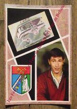 Carte postale vintage, Vive St Eloi,blason Securitas Publica, locomotive    CPSM