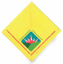 2007 World Scout Jamboree SCOUTING'S SUNRISE CEREMONY PARTICIPANTS Neckerchief