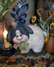 Primitive Patti's Ratties Raggedy Sheep Lamb Ornie Doll Paper Pattern #635